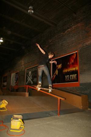 aggressive inline skate session at alsm roller